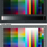 Raw Scan vs ICC Profile Applied